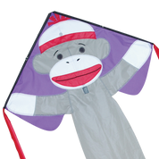 Sock Monkey Easy Flyer Kite