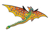 "76"" 3D Green Dragon Kite"