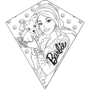 "26"" Barbie Color-Me Diamond Kite"