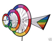 Triple Ring Rainbow Spinner