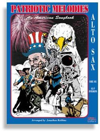 Patriotic Melodies with CD For Alto Sax