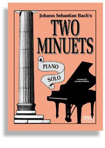 Bach's Two Minuets * Piano Solo