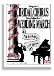Bridal Chorus & Wed March For Alto Sax & Piano