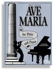 Ave Maria For Flute & Piano * C Edition * Bach - Gounod