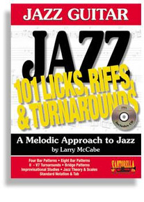 101 Jazz Guitar Licks, Riffs & Turnarounds with CD