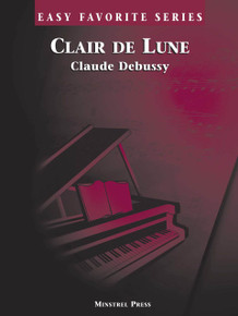 Clair de Lune Easy Favorite Piano Sheet PDF download