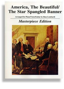 America the Beautiful & Star Spangled Banner 2 in 1 Masterpiece Piano/Vocal PDF Download