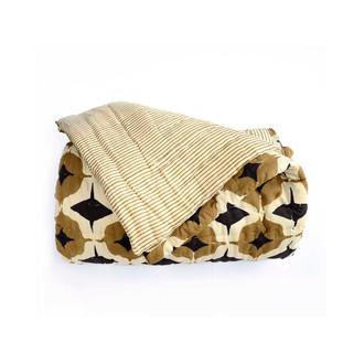 striped quilt
