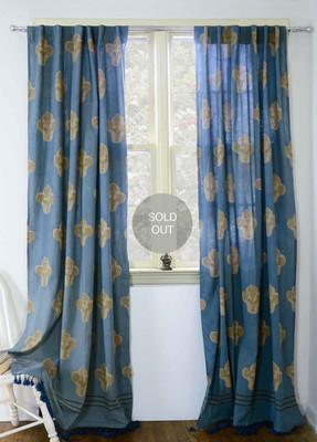 Kalam Curtain Panel