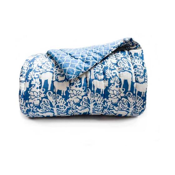 baagh blue quilt