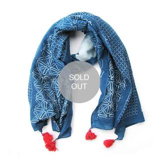 Stars - tassel scarf