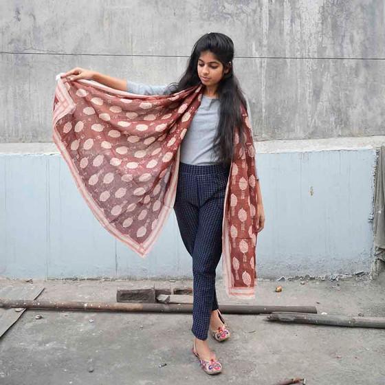unique handmade scarf