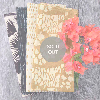 Black and Gold - Mix & Match Napkins