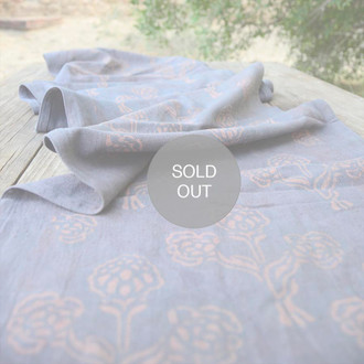Organic Cotton Table Runner - Kalam