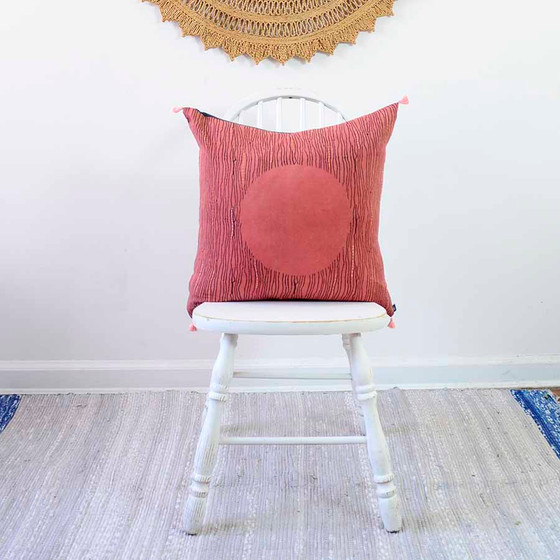 red moon pillow