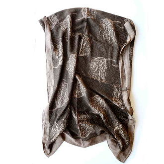 Willow brown Scarf
