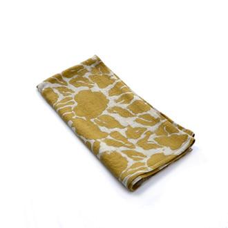 golden yellow cloth napkins