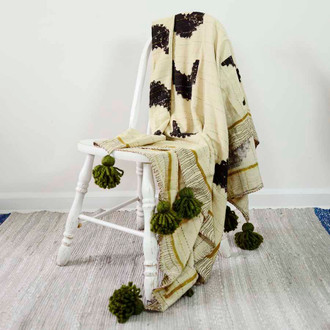 Sunset Organic Cotton Throw