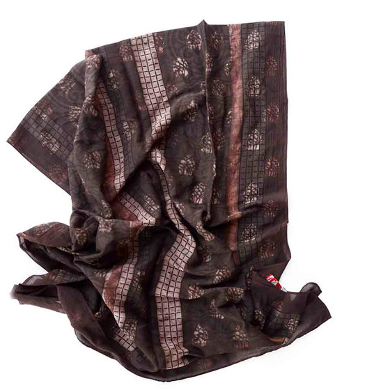 charcoal brown scarf