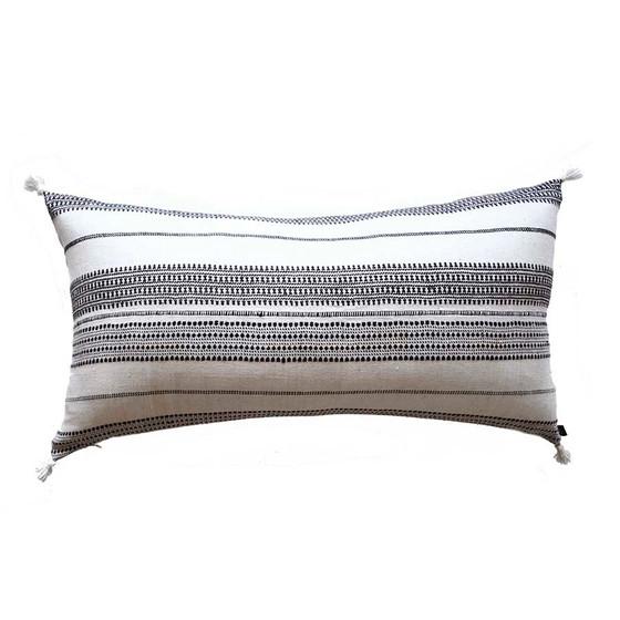 black and white luxury pillows