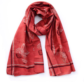 red-off-white-floral-scarf