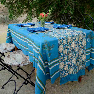 indian tablecloth