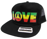 Peace & Love Flip Cap
