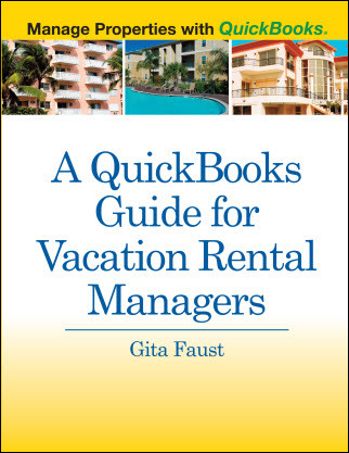 A QuickBooks Guide for Vacation Rentals by Manager front cover
