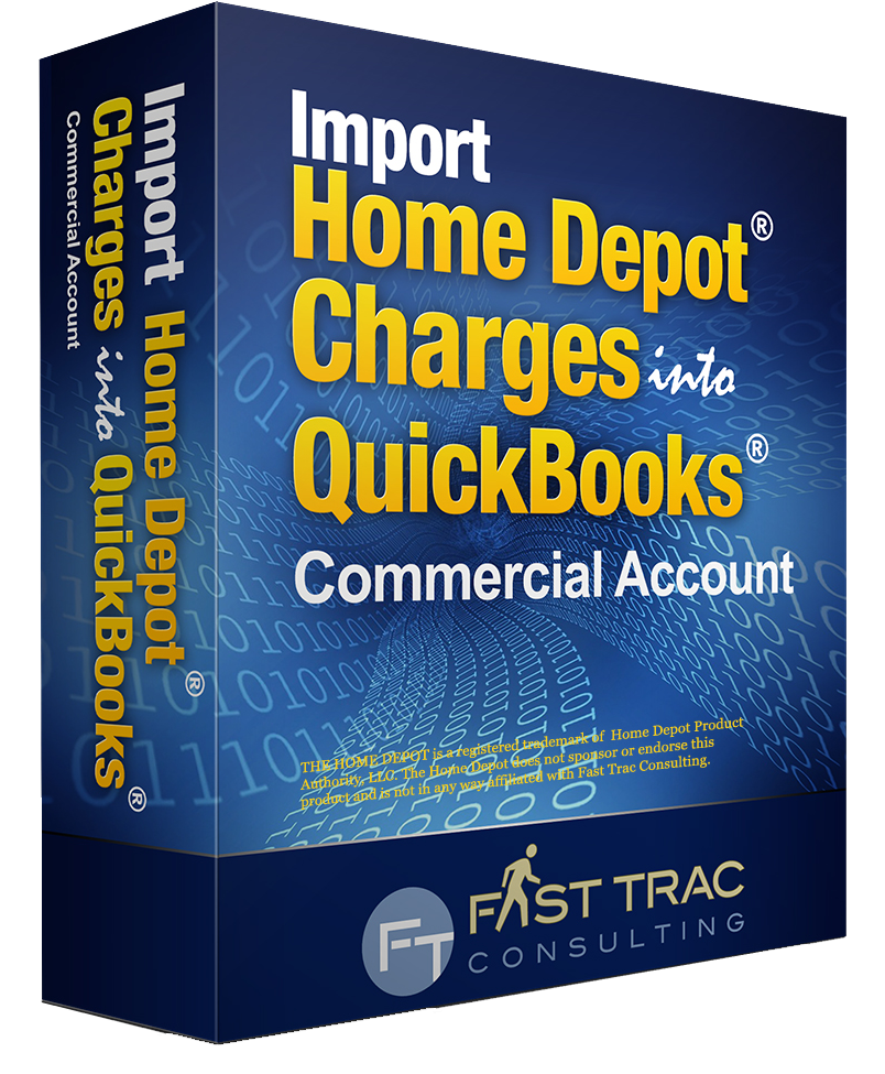 Download And Import Home Depot Credit Card Charges Into Quickbooks