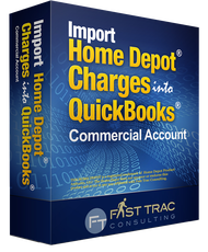 Import Home Depot Charges into QuickBooks: Commercial Account