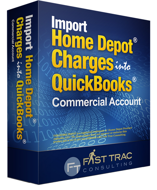 Download And Import Home Depot Credit Card Charges Into