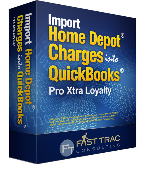 Import Home Depot Charges into QuickBooks - Pro Xtra Loyalty