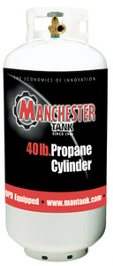 40 lbs (10 Gallon) Manchester Propane Tank with OPD