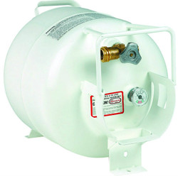 20 lbs (5 gallon) Manchester Horizontal Propane Tank with Gauge