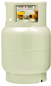 20 lbs (5 Gallon) Manchester Propane Forklift Tank without a Fill Valve