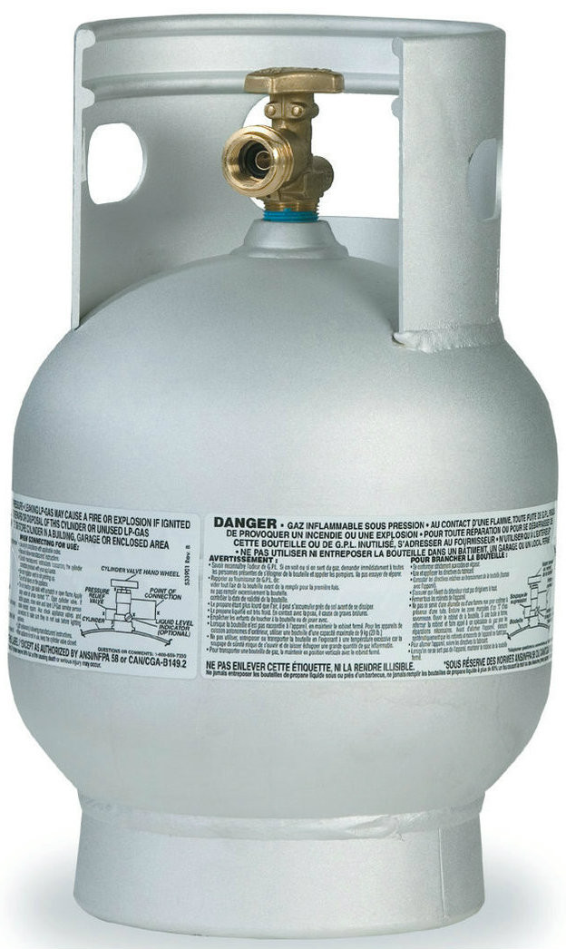 20 Lbs 5 Gallon Manchester Aluminum Propane Cylinder With Opd Propane Tank Store