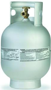 10 lbs (2.4 Gallon) Manchester Aluminum Propane Tank
