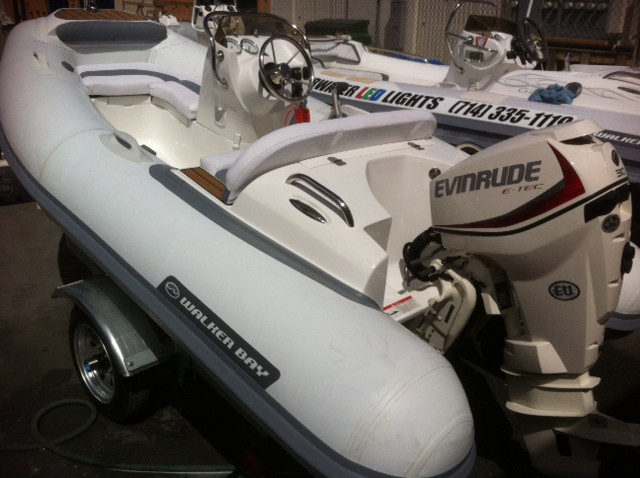 2020 Walker Bay Generation 340 with Evinrude ETEC 30 hp outboard