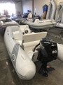 2020 Walker Bay Supertender 325 hypalon RIB with WB seat and console and  Mercury 20 hp EFI Outboard