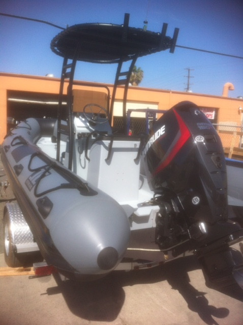 2019INMAR Rescue RIB 600 R (20')' Hypalon with Evinrude ETEC 150 hp outboard