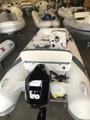 2021 Walker Bay 325 STX-LE Supertender (white) with deluxe seat and console kit, 4 seat, with Honda 20 hp 4 stroke outboard