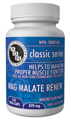 Mag Malate Renew 870mg 120 vegi-caps
