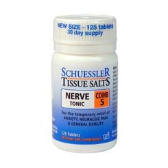 Schuessler Tissue Salts Comb 5 Nerve Tonic