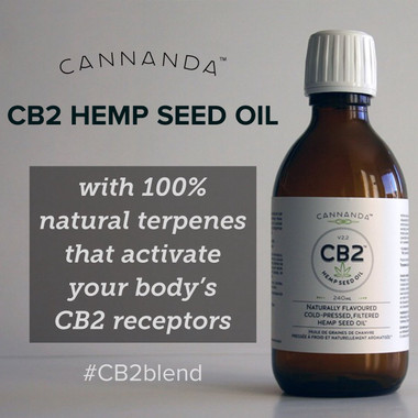CB2 Hemp Seed Oil with Natural Terpenes. The Legal Alternative to CBD oil with all the same benefits for pain relief.