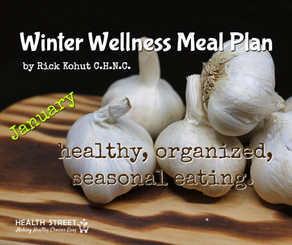 Winter Wellness Meal Plan - January