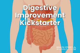 Improve digestion the natural way by addressing the root cause.