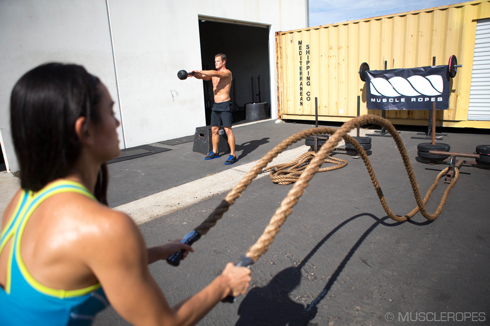 Top 10 Reasons To Use Battle Ropes This Summer By Steve