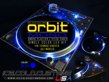 ORBIT MONO LED KIT - BLUE (SINGLE COLOR UNDER PLATTER/ PITCH)