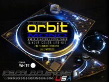ORBIT MONO LED KIT - WHITE (SINGLE COLOR UNDER PLATTER/ PITCH)