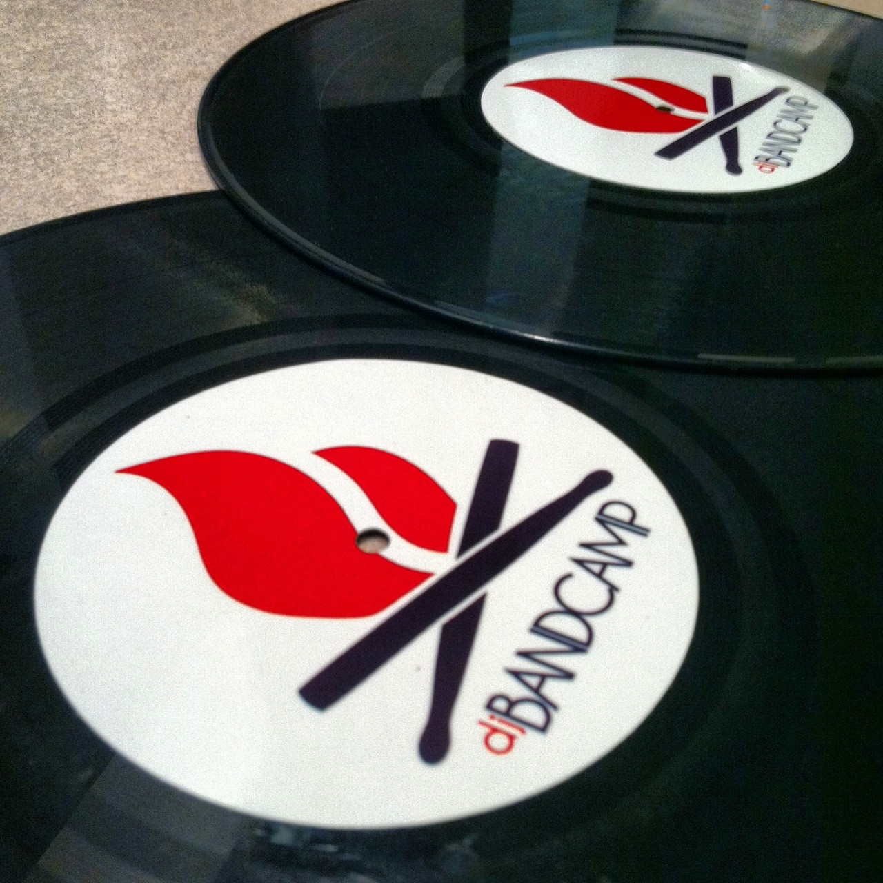 Custom record labels x1 personalize your own price 9 99 image 1